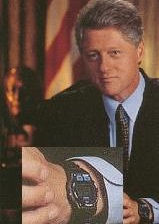 Bill Clinton Timex Watch
