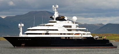 Paul Allen Yacht Octopus